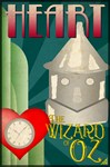Wizard of Oz Tin Man Deco Poster Design