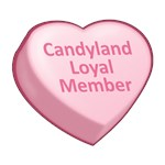 Candyland Loyal Member Candy Heart