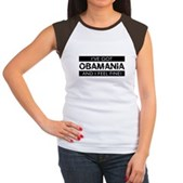 I've Got Obamania! Women's Cap Sleeve T-Shirt