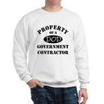 Property of a DOD Government Contractor Sweatshirt