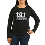 Chicken Dance Women's Long Sleeve Dark T-Shirt