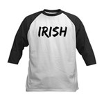 Irish Handwriting Kids Baseball Jersey