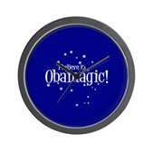 I Believe in Obamagic Wall Clock