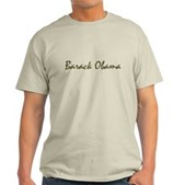 Script Barack Obama Light T-Shirt
