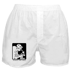 Science Club Rules Boxer Shorts