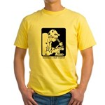 Science Club Rules Yellow T-Shirt