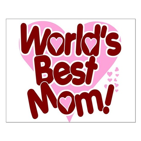 World S Best Mom Small Poster