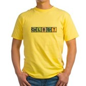 Elements of Truthiness Yellow T-Shirt