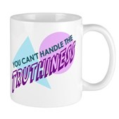 Ah, the buzzword of the year. The truthiness might hurt. Feel it in your heart, not in your head, Stephen Colbert fans. Can you handle the truthiness? Here's a great gift for all Colbert Report fans!