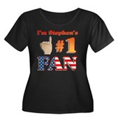 I'm Stephen's #1 Fan Women's Plus Size Scoop Neck