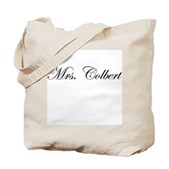 Mrs. Colbert Tote Bag