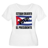 Voto! Esteban Colberto Women's Plus Size T-Shirt