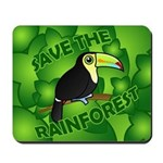 Save the Rainforest Mousepad