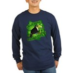 Save the Rainforest Long Sleeve Dark T-Shirt