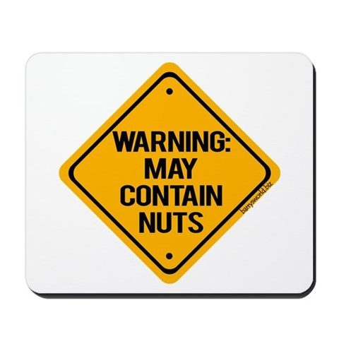 Nuts Mousepad