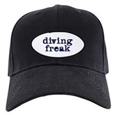 Diving Freak Black Cap