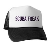 Scuba Freak Trucker Hat