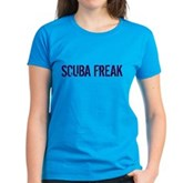 Scuba Freak Women's Dark T-Shirt