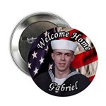 "For Mae Custom Military 2.25"" Button (10 pack)"