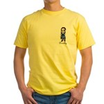 Yellow T-Shirt : Sizes S,M,L,XL,2XL