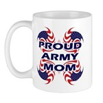 Proud Army Mom - Military Sup Mug
