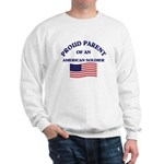 Proud Parent American Soldier Sweatshirt