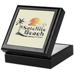 Satellite Beach Keepsake Box