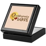 California Love Keepsake Box
