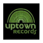 Uptown Records Tile Coaster