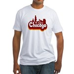 Retro Chicago Fitted T-Shirt