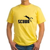 Scuba Yellow T-Shirt