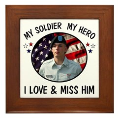 For Darlene Custom Military Framed Tile