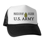 CSM - Proud of my soldier Trucker Hat