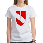 Scuba Flag Letter U Women's T-Shirt