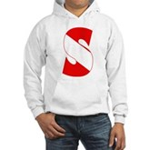 Scuba Flag Letter S Hooded Sweatshirt