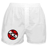 Scuba Flag Pentagram Boxer Shorts