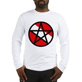 Scuba Flag Pentagram Long Sleeve T-Shirt