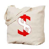 Scuba Flag Dollar Sign Tote Bag
