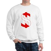 Scuba Flag Dollar Sign Sweatshirt