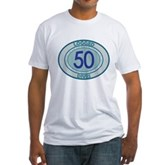 50 Logged Dives Fitted T-Shirt