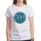 500 Dives Milestone Women's T-Shirt