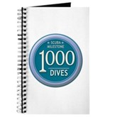 1000 Dives Milestone Journal