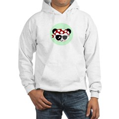 Pirate Panda Hooded Sweatshirt