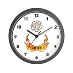 Fire Chief's Wall Clock