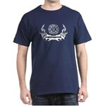 Fire Dept Tattoos Dark T-Shirt