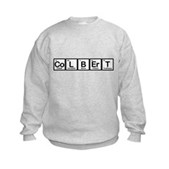 Elements of Truthiness BW Kids Sweatshirt