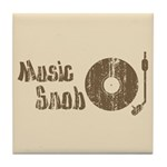 Music Snob Tile Coaster