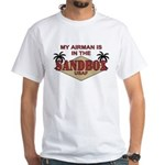 Airman Sandbox Air Force White T-Shirt