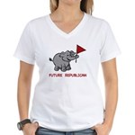 Future Republican Women's V-Neck T-Shirt