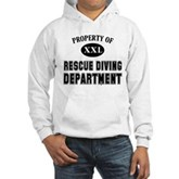 Rescue Diving Department Hooded Sweatshirt